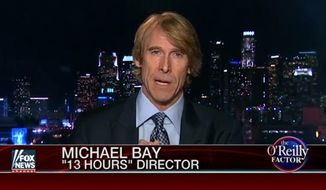 "Director Michael Bay said his newest film ""13 Hours"" sticks to the facts of what transpired in the Sept. 11, 2012 terrorist siege at a U.S. diplomatic compound in Benghazi, Libya, but politics surrounding the attack got in the way of the bigger ""human story"" he wanted to tell. (Fox News)"