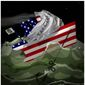 Illustration on the two major policy hindrances to a recovered economy by Alexander Hunter/The Washington Times