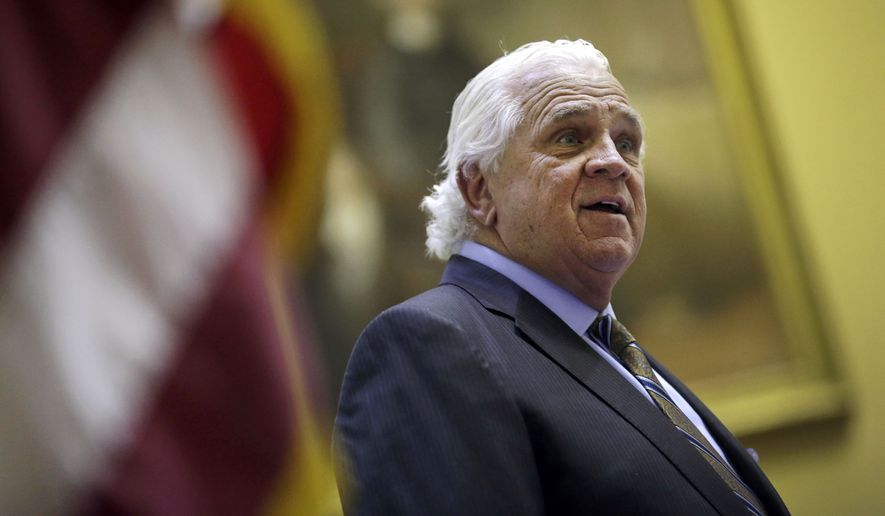 """""""Our state is very important,"""" Maryland Senate President Thomas V. """"Mike"""" Miller Jr. said Thursday. """"But our song contains some offensive verses."""" (Associated Press)"""