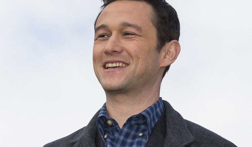 FILE - In this Oct. 8, 2015 file photo, actor Joseph Gordon-Levitt poses for the media on top of the Empire Tower before the premiere of 'The Walk' at the Moscow International Business Center, Russia. On Thursday, Jan. 21, 2016, Hasty Pudding Theatricals named him as its 2016 Man of the Year. Gordon-Levitt will be honored and presented his Pudding Pot at Harvard University in Cambridge, Mass., on Feb. 5. (AP Photo/Alexander Zemlianichenko, File)