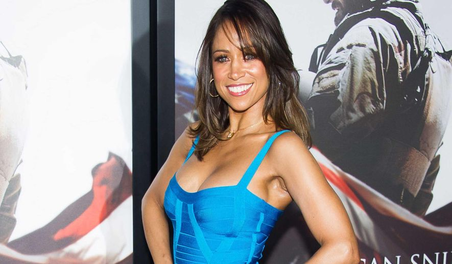 "Stacey Dash attends the ""American Sniper"" premiere in New York, in this Dec. 15, 2014, file photo. (Photo by Charles Sykes/Invision/AP, File)"