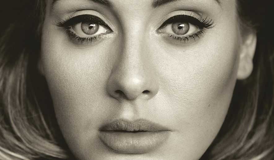 "This CD cover image released by Columbia Records shows, ""25,"" the latest release by Adele. Adele has outpaced Psy on the race to 1 billion views on YouTube. The streaming service says on Thursday, Jan. 21, 2016, the music video for ""Hello"" greeted its 1 billionth view in 87 days, breaking the 158-day record previously held by Psy's ""Gangnam Style."" (Columbia Records via AP, File)"