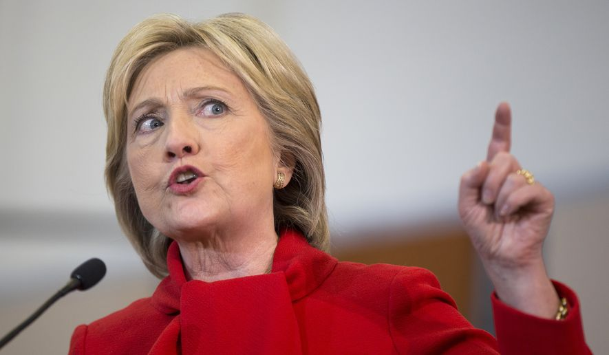 Hillary Clinton (Associated Press/File)