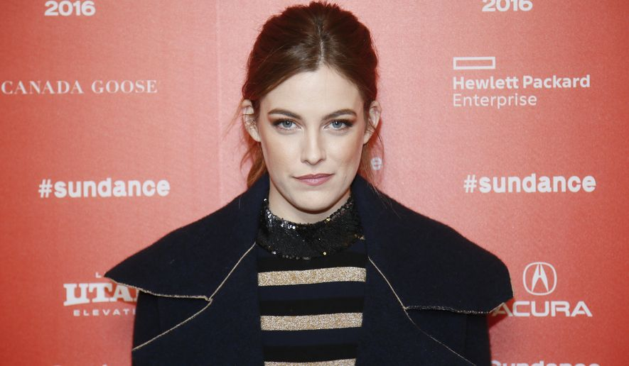 "FILE - In this Saturday, Jan. 23, 2016 file photo, actress Riley Keough poses at the premiere of the Starz original limited series ""The Girlfriend Experience"" during the 2016 Sundance Film Festival in Park City, Utah. Keough believes her upcoming TV series ""The Girlfriend Experience,"" will introduce viewers to another side of sex work. ""Yeah I mean there's lots of girls who are in college who are smart who end up doing sex work by choice and enjoy themselves, you know,"" said Keough at the Sundance Film Festival premiere of the series on Saturday.   (Photo by Danny Moloshok/Invision/AP, File)"