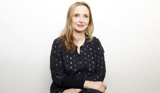 "Actress Julie Delpy poses for a portrait to promote the film, ""Wiener-Dog"", at the Toyota Mirai Music Lodge during the Sundance Film Festival on Friday, Jan. 22, 2016 in Park City, Utah. (Photo by Matt Sayles/Invision/AP)"