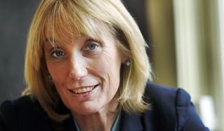 Gov. Maggie Hassan, a Democrat, is trying to unseat Republican Sen. Kelly Ayotte in New Hampshire. (Associated Press)