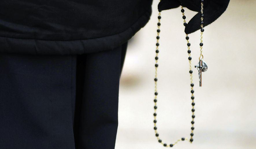 Some liberal Catholics fear movements in the faith toward an embrace of President Trump and changes he represents in the Republican Party. (Associated Press/File)