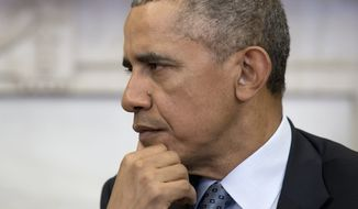 The grim news comes with less than a year left for President Obama to put the Affordable Care Act on firmer footing as he seeks to head off what is likely to be a last effort at repealing the act after November's elections. (Associated Press)