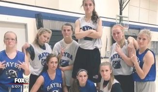 A Minnesota girls basketball team has been forced out of their league after officials determined they were too good and were intimidating the other teams. (Fox 9)