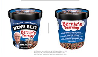 Ben & Jerry's co-founder Ben Cohen has created a new ice cream flavor to honor Sen. Bernie Sanders. (Ben Cohen) ** FILE **