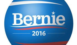 Illustration on Bernie Sanders ascendant by Alexander Hunter/The Washington Times