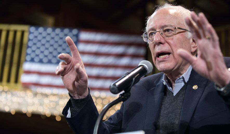 Polling shows Sen. Bernard Sanders' strongest supporters also have the highest opinions of the Affordable Care Act. (Associated Press)