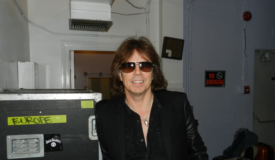Joey Tempest of the band Europe.  (Dave Kapp)