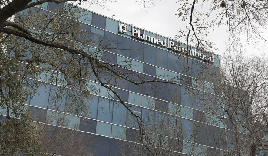 A Planned Parenthood clinic is seen Tuesday, Jan. 26, 2016 in Houston.  A Houston grand jury investigating undercover footage at the Houston clinic found no wrongdoing Monday, Jan. 25, 2016, by the abortion provider, and instead indicted anti-abortion activists involved in making the videos that targeted the handling of fetal tissue in clinics and provoked outrage among Republican leaders nationwide. (AP Photo/Pat Sullivan) **FILE**
