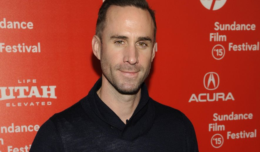 """FILE - In this Friday, Jan. 23, 2015 file photo, Joseph Fiennes, a cast member in """"Strangerland,"""" poses  at the premiere of the film at the Egyptian Theatre during the 2015 Sundance Film Festival, in Park City, Utah. Joseph Fiennes will star as Michael Jackson in a TV drama set to broadcast later this year, it was reported on Wednesday, Jan. 27, 2016. The white British star of """"Shakespeare in Love"""" plays the late King of Pop in """"Elizabeth, Michael and Marlon,"""" alongside Stockard Channing as Elizabeth Taylor and Brian Cox as Marlon Brando. (Photo by Chris Pizzello/Invision/AP, File)"""