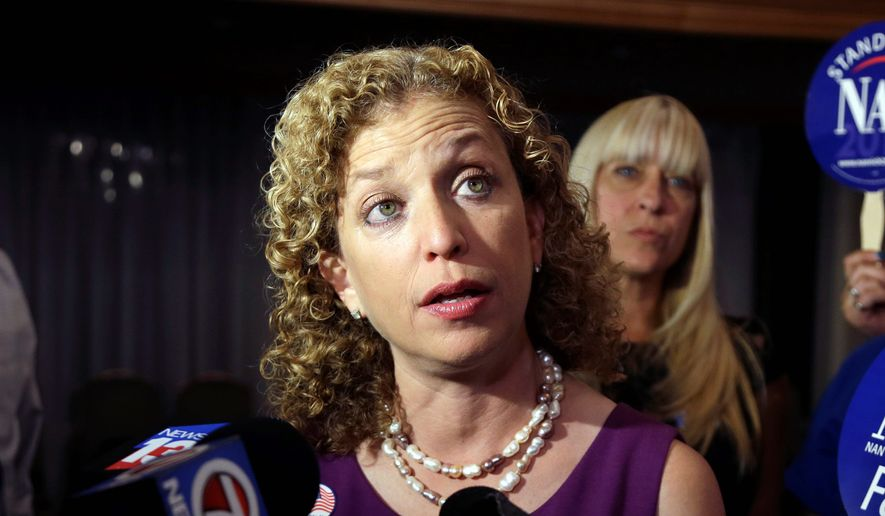 Rep. Debbie Wasserman Schultz, Democratic National Committee Chair (Associated Press) **FILE**