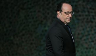 After two major public attacks by Muslim terrorists in 2015, French President Francois Hollande is taking such measures as closing mosques that teach extremist ideals. (Associated Press)