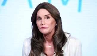 "Caitlyn Jenner participates in E!'s ""I Am Cait"" panel at the NBCUniversal Winter TCA in Pasadena, Calif., on Jan. 14, 2016. (Richard Shotwell/Invision/AP) **FILE**"