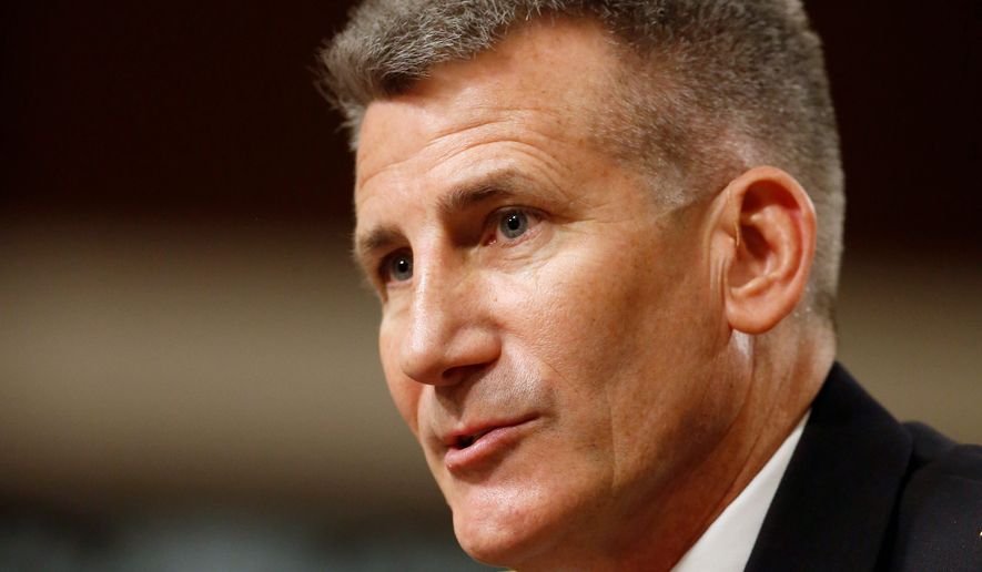 """The Taliban came at the Afghan Security Forces more intensely than perhaps we anticipated,"" Army Lt. Gen. John Nicholson, President Obama's nominee to become the next top American commander in Afghanistan, testified last week to Congress. (Associated Press)"