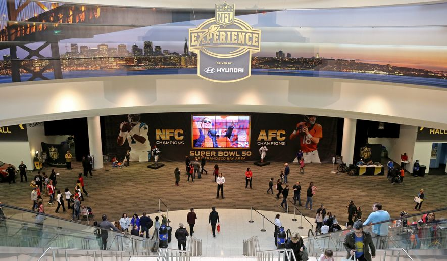 A general view of atmosphere at the NFLX on Sunday, Jan. 31, 2016, in San Francisco, Calif. (Gregory Payan/AP Images for NFL)