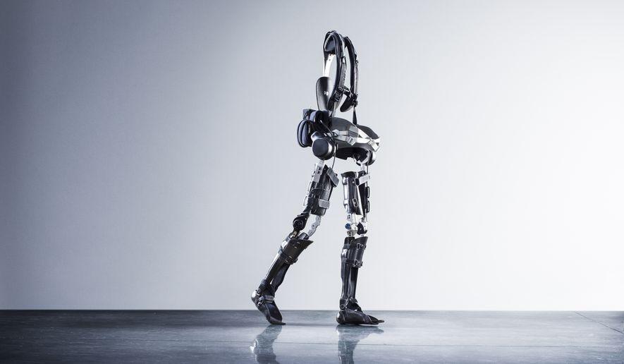 SuitX exoskeleton. Photo credit: suitX