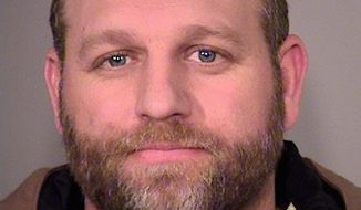 Group leader Ammon Bundy's lawyers say he should be released from jail with a GPS monitoring device and orders not to leave the state except to go to court. (Associated Press)