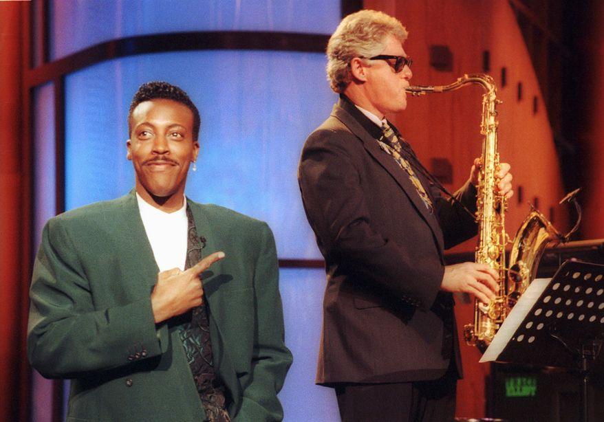 "Gov. Bill Clinton on ""The Arsenio Hall Show"" June 3, 1992."