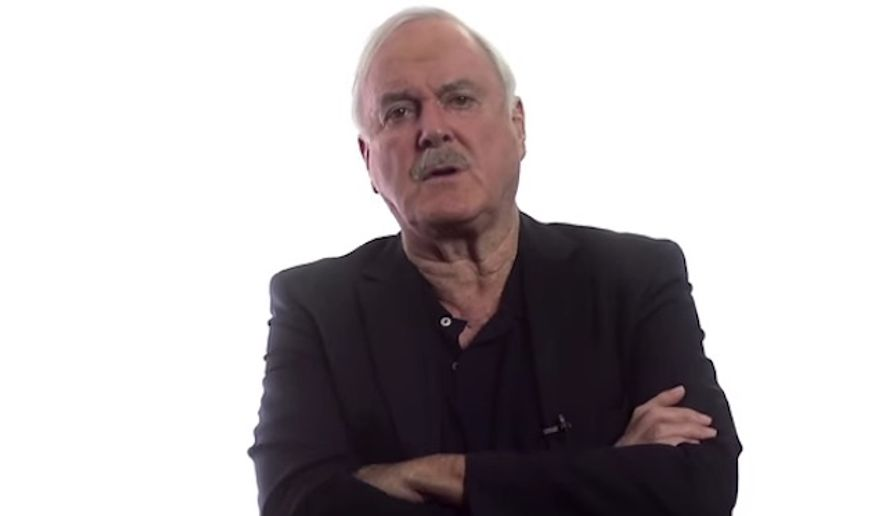 Famed British comedian John Cleese warns that political correctness is killing comedy in a video for Internet forum Big Think. (YouTube/@Big Think) ** FILE **