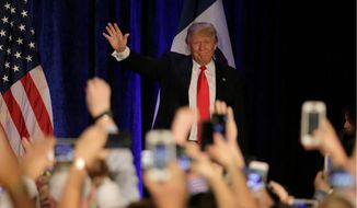 Republican presidential candidate Donald Trump may need to refashion himself and his campaign to hold on to his front-runner status after the Iowa caucuses. (Associated Press)