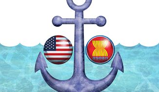 Illustration on the need to ratify the Law of the Sea treaty (UNCLOS) by Greg Groesch/The Washington Times