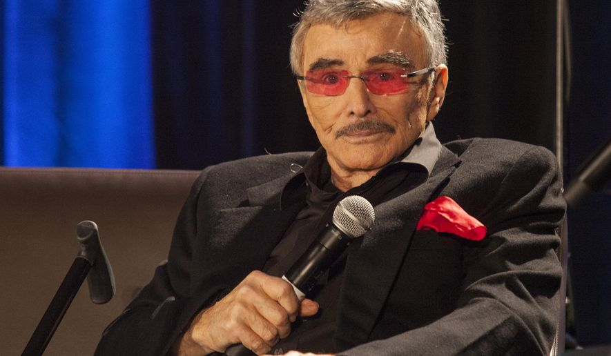 FILe - In this Aug. 22, 2015 file photo, Burt Reynolds appears at the Wizard World Chicago Comic-Con in Chicago. The South by Southwest Film Conference and Festival unveiled the slate for its 23rd edition, including a documentary on Burt Reynolds. SXSW Film runs March 11-19. (Photo by Barry Brecheisen/Invision/AP, File)