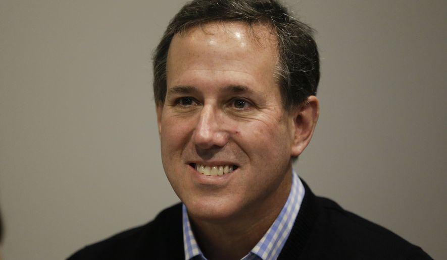Rick Santorum. (Associated Press) ** FILE **