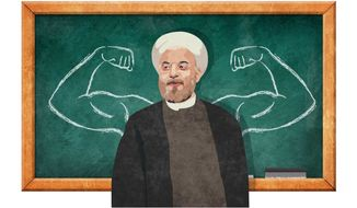 Arrogant Iranian Actions Illustration by Greg Groesch/The Washington Times