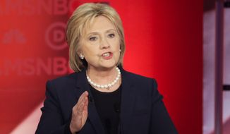 Hillary Clinton seemed reluctant to let the American people learn exactly what she told Wall Street executives in private speeches. (Associated Press)