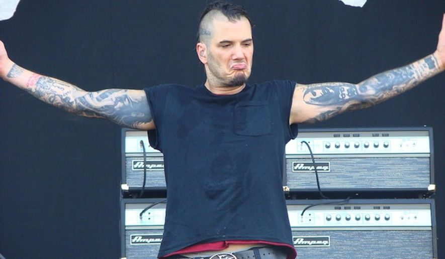 """Down singer and former Pantera frontman Phil Anselmo has suggested his bandmates move on without him after he recently yelled """"white power"""" and gave a Nazi salute onstage while performing at this year's Dimebash. (Wikipedia)"""
