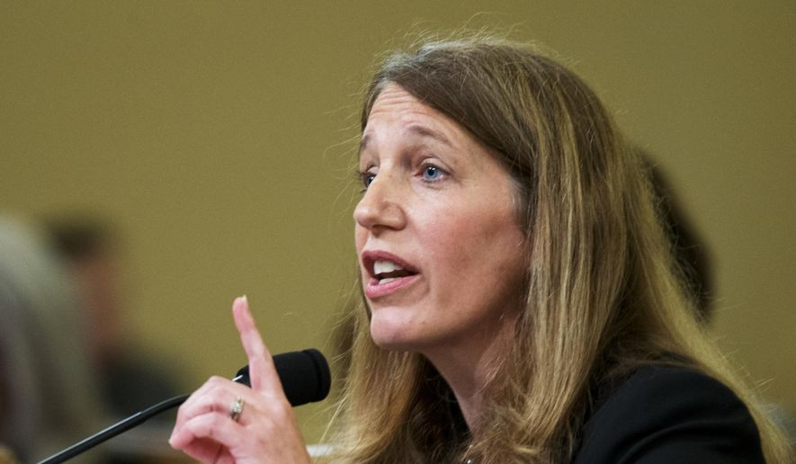 Health and Human Services Secretary Sylvia Burwell testifies on Capitol Hill in Washington on June 10, 2015. (Associated Press) **FILE**