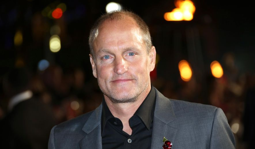 "In a Thursday, Nov. 5, 2015, file photo, Woody Harrelson poses for photographers upon arrival at the premiere of the film ""The Hunger Games Mockingjay Part 2,"" in London. (Photo by Joel Ryan/Invision/AP, File)"
