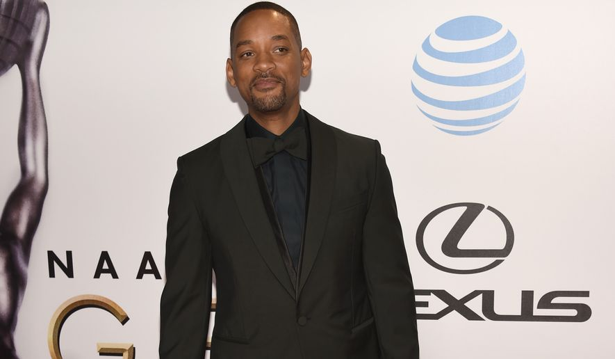 Will Smith arrives at the 47th NAACP Image Awards at the Pasadena Civic Auditorium on Friday, Feb. 5, 2016, in Pasadena, Calif. (Photo by Chris Pizzello/Invision/AP)