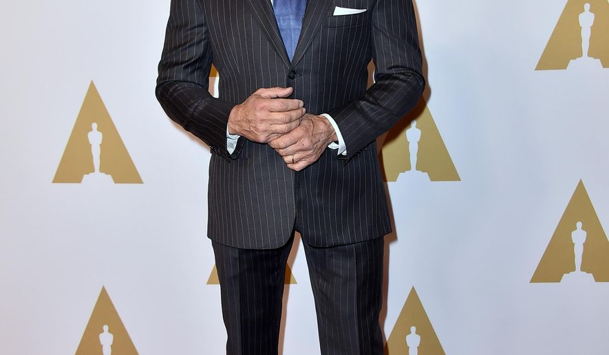 Sylvester Stallone arrives at the 88th Academy Awards Nominees Luncheon at The Beverly Hilton hotel on Monday, Feb. 8, 2016, in Beverly Hills, Calif. (Photo by Jordan Strauss/Invision/AP)