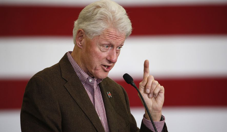 "Former President Bill Clinton, still one of the most popular figures in the Democratic Party, has taken harsh shots at Bernard Sanders, saying, among other things, that the Vermont senator lives in a ""hermetically sealed"" fantasy land and has a platform full of wholly unrealistic policy proposals. (Associated Press)"