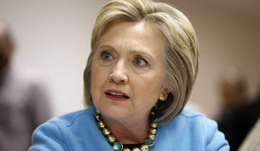 The FBI investigation has hurt Hillary Clinton, who is seeking Democrats' presidential nomination. (Associated Press)