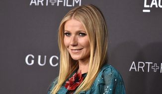 Gwyneth Paltrow attends LACMA 2015 Art+Film Gala at LACMA in Los Angeles, in this Nov. 7, 2015, file photo. (Photo by Jordan Strauss/Invision/AP, FIle)