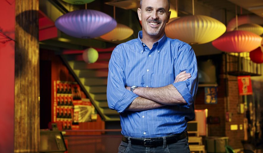 """This July 12, 2010 photo released by Disney shows Dan Gerson. Gerson, who co-wrote several Walt Disney animated films including """"Monsters, Inc."""" and """"Big Hero 6,"""" died at his Los Angeles home on Saturday, Feb. 6, 2016, after battling brain cancer He was 49. Gerson was a frequent contributor for Pixar Animation, co-writing both 2001's """"Monsters, Inc."""" and its 2013 sequel, """"Monsters University."""" (Disney via AP)"""