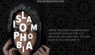 The Huffington Post has launched an Islamophobia tracking website dedicated to recording acts of anti-Muslim violence and discrimination across the United States. (The Huffington Post)