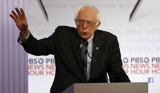 Sen. Bernard Sanders blames former Secretary of State Henry Kissinger for creating the instability in Cambodia because of the bombing that happened in 1970 and creating a vacuum for the Khmer Rouge and dictator Pol Pot to flourish. (Associated Press)