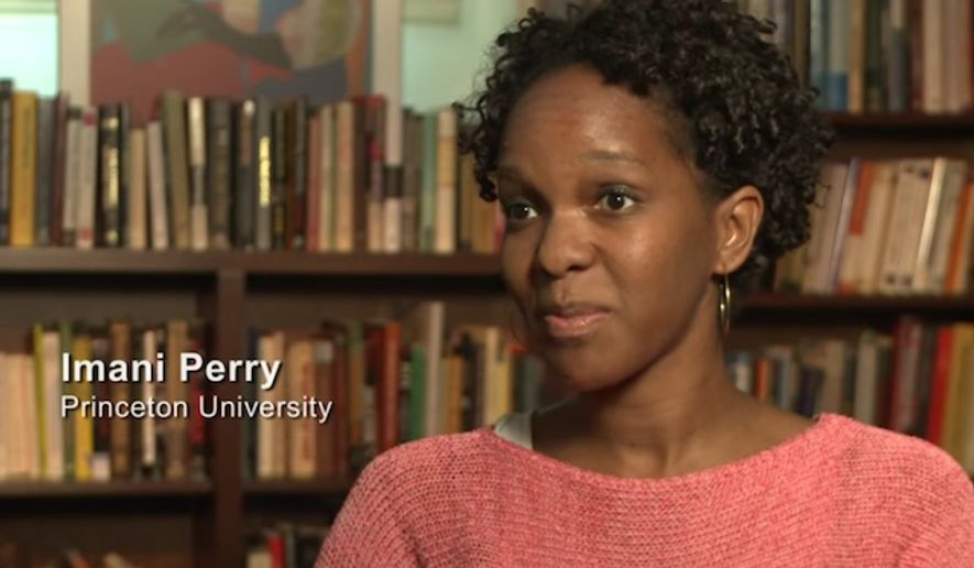 "Imani Perry, a black professor of African American Studies at Princeton University, is claiming she was racially discriminated against when she was arrested Saturday over a 3-year-old parking ticket. (YouTube/""White Like Me"")"