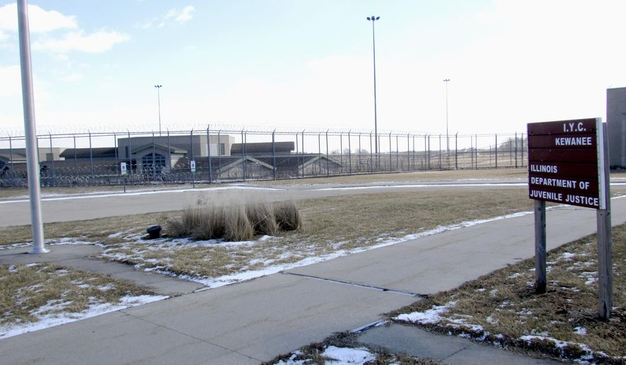 The youth correctional center in Kewanee, Ill., is seen on Friday, Feb. 12, 2016. Illinois Gov. Bruce Rauner's administration announced Friday says it will close the facility July 1. Illinois Juvenile Justice Director Candice Jones says closing the facility which opened in 2001 will save money, improve rehabilitation of young offenders and improve community safety. (Mike Berry/Star Courier via AP)  NO SALES, MANDATORY CREDIT