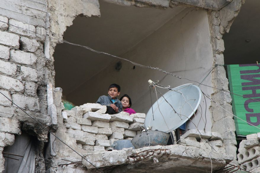 Fighting around Syria's largest city of Aleppo has brought government forces closer to the Turkish border than at any point in recent years, routing rebels from key areas and creating a humanitarian disaster. (Associated Press)