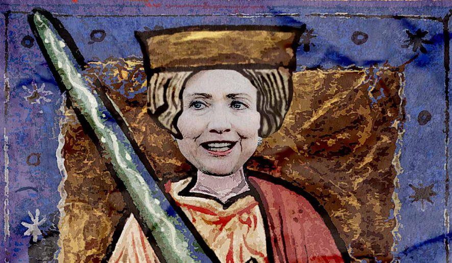 Hillary the Unready Illustration by Greg Groesch/The Washington Times