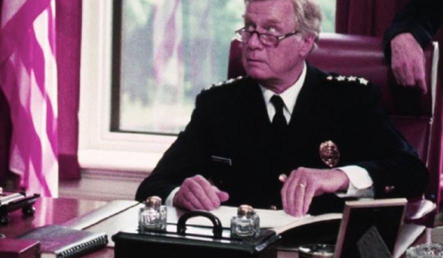 George Gaynes stars as Commandant Lassard in Police Academy (1984) (Warner Bros.)
